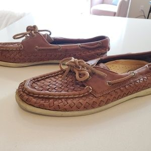 Sperry Top Sider Woven Boat Shoes